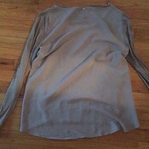 Guess Women's lightweight scoop neck mixed sweater